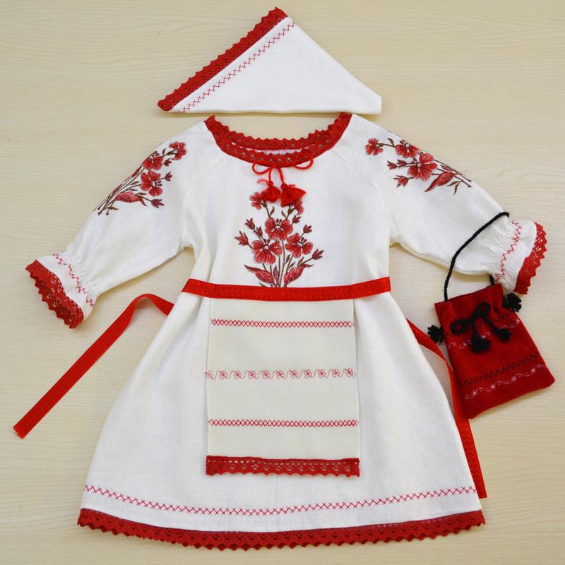 Costum popular fetite - cod J030