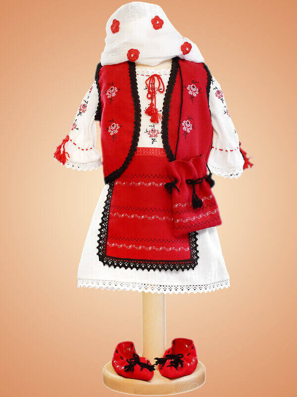Costum popular botez - G01
