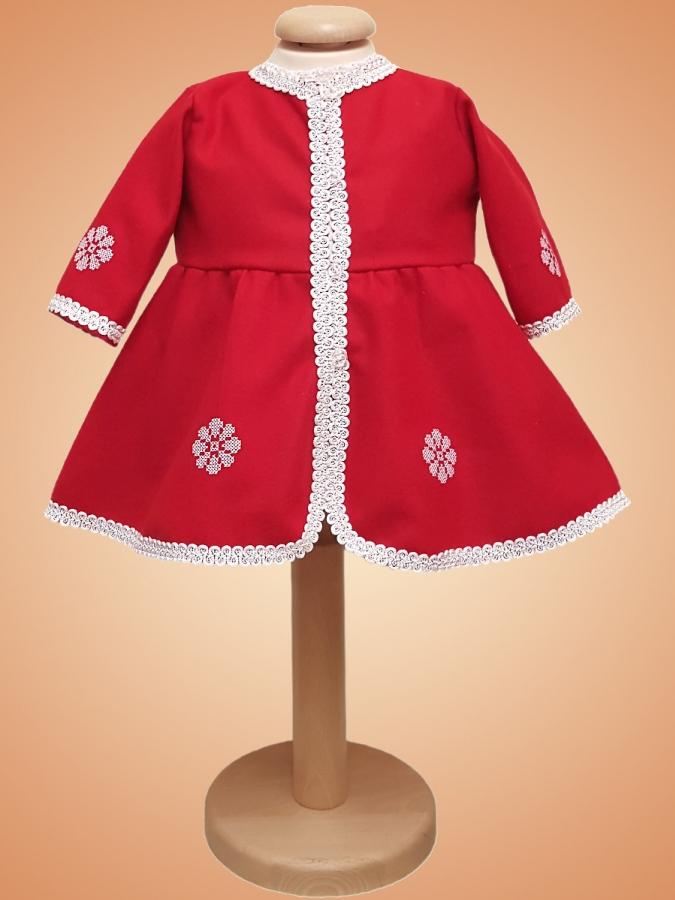 Palton botez fete - G025